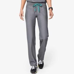 Figs Livingston Basic Scrub Pants Graphite